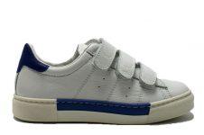 Ciao-klittenband-sneaker-wit---blauw