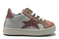 Ciao-sneaker-ster-wit-roze-glitter