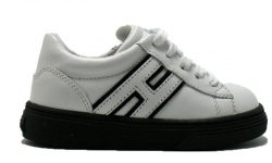 Hogan-sneaker-wit-zwart