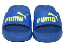 Puma-popcat-badslipper-blauw
