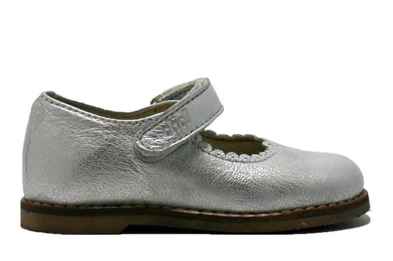 clic-bandschoen-zilver