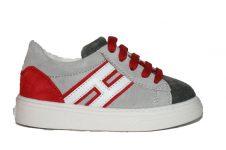 hogan-sneaker-grijs-rood