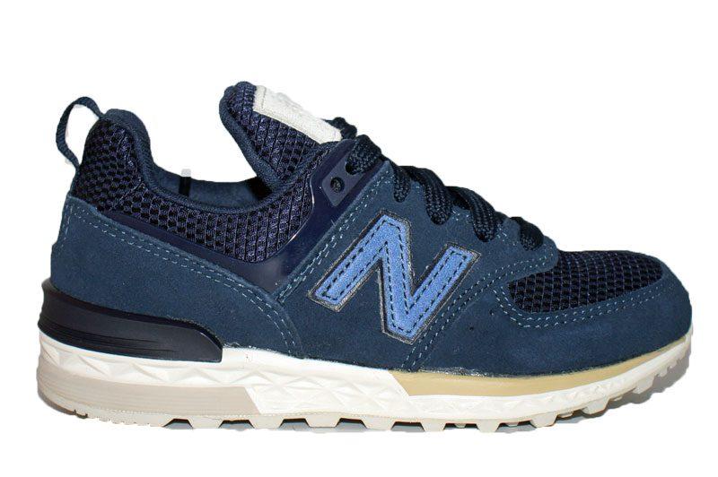 new balance blauw 574