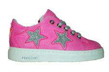 Pinochio-tennis-fluo-roze-