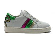 clic-sneaker-streep-wit