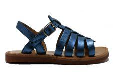pomdapi-plagette-strap-blauw