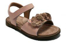 Clic-sandaal-ruffel-roze