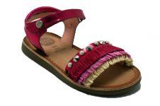 Gioseppo-sandaal-fuxia-raffia