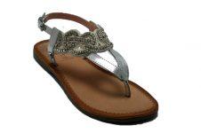 Gioseppo-sandaal-zilver-stras