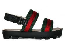Gucci-sandaal-sam-rood-groen