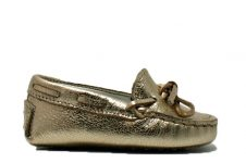 Tods-Mocassin-baby-goud